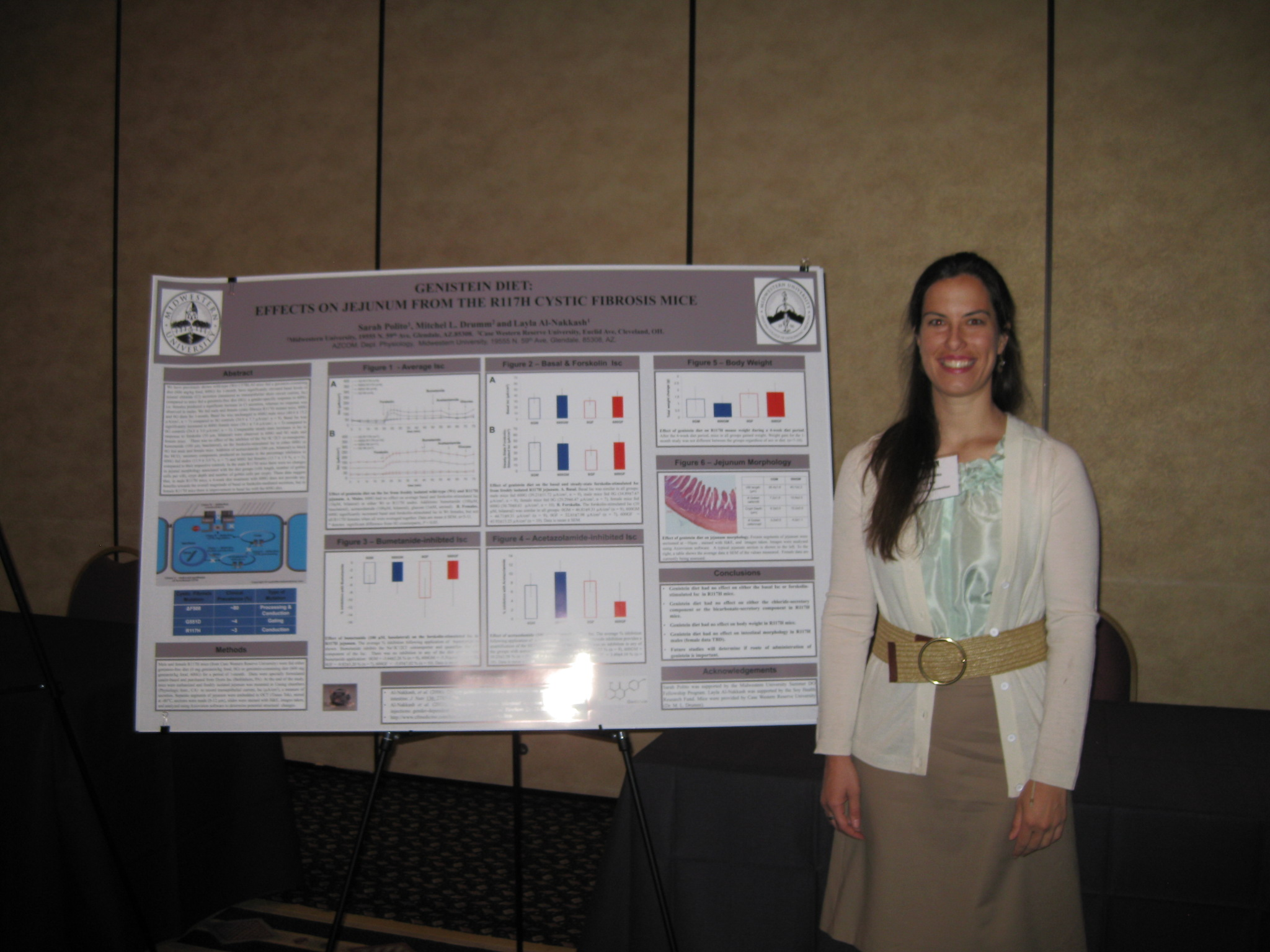 Sarah Polito MSII- presenting data at ACP 2012
