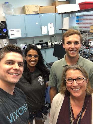 lab Summer 2017-Taylor, Archana, Ryan and I