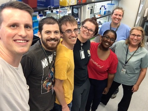Lab 2018-Bryan, Schuyler, Stephen, Chaheyla, Meli'sa, Amy and I