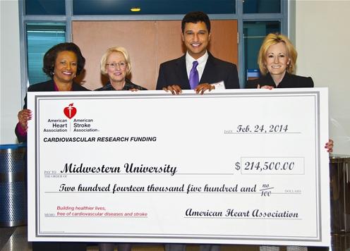 Midwestern University Glendale Az >> Midwestern University Researcher Receives Award from ...