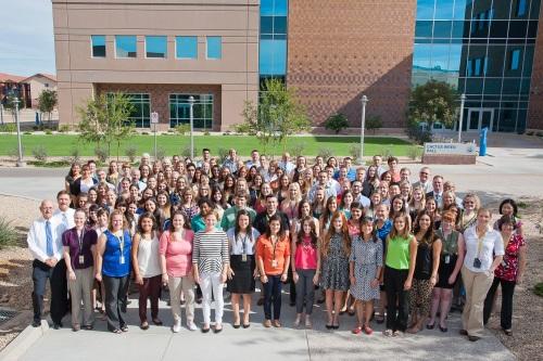 Midwestern University Glendale Az >> Arizona S First Veterinary Students Begin Classes At Midwestern