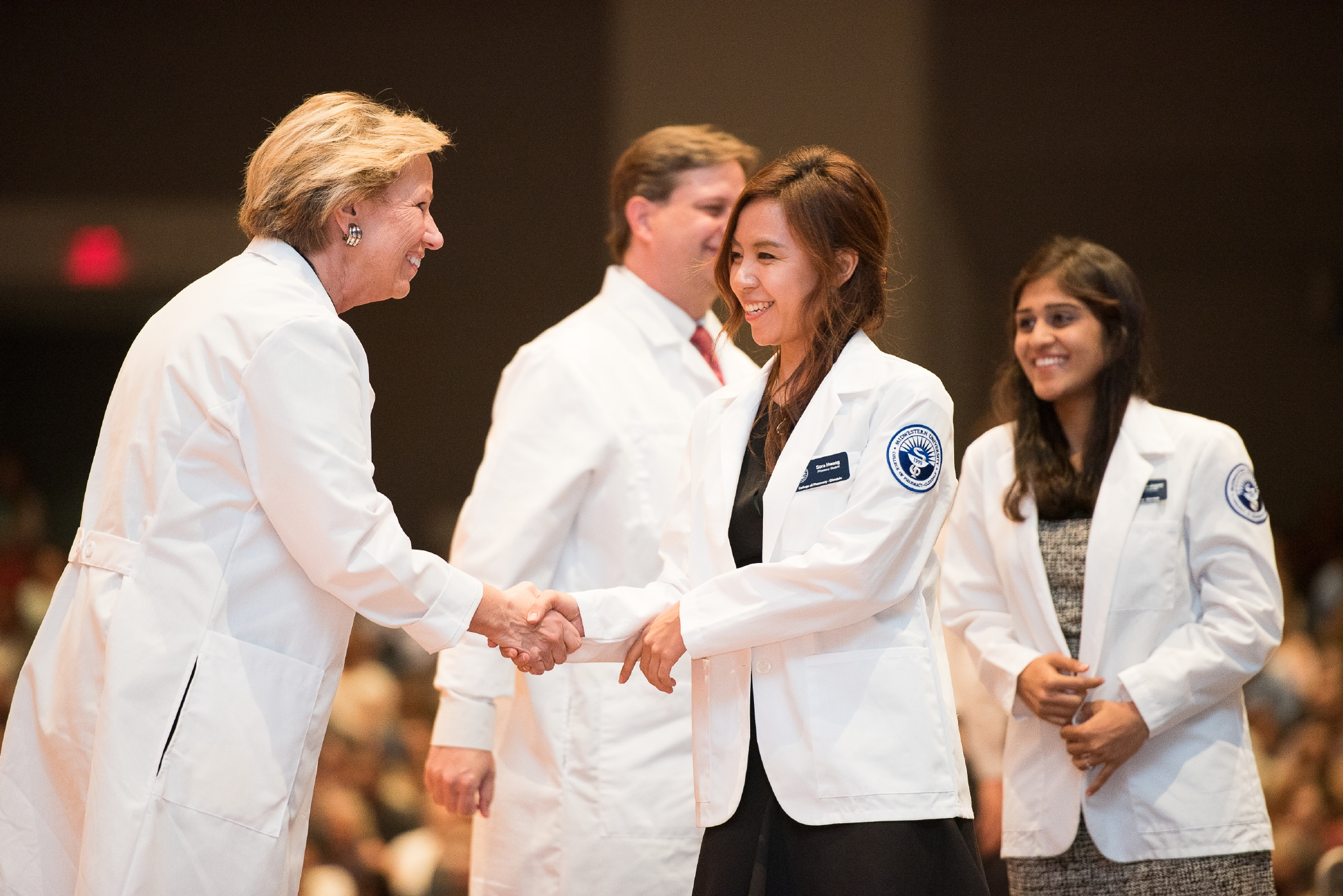 White Coat Ceremonies Mark Start of Professional Careers