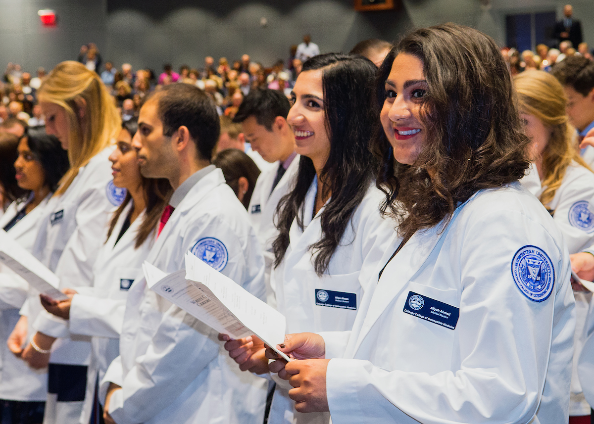 White Coat Ceremony Marks Start of Professional Health Education ...